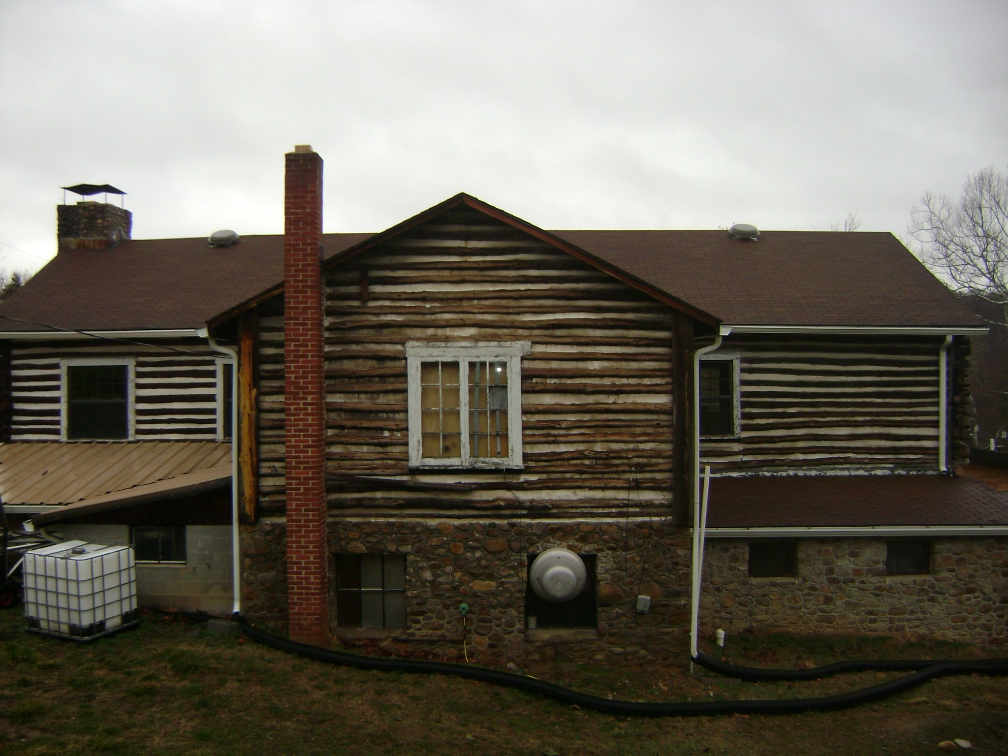 Log home project by Mt. Tabor Builders of Clear Spring, MD