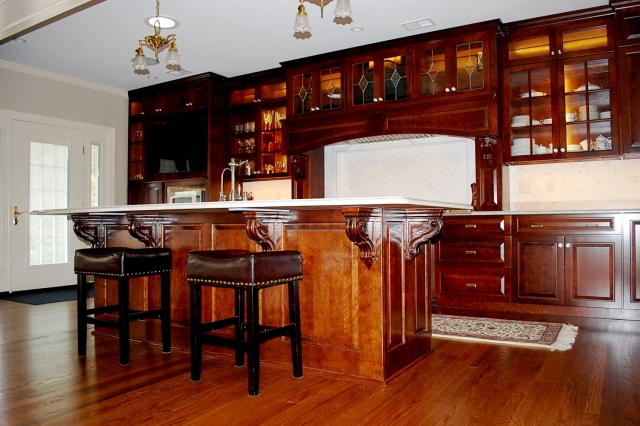 Custom kitchen in historic Hagerstown, MD home
