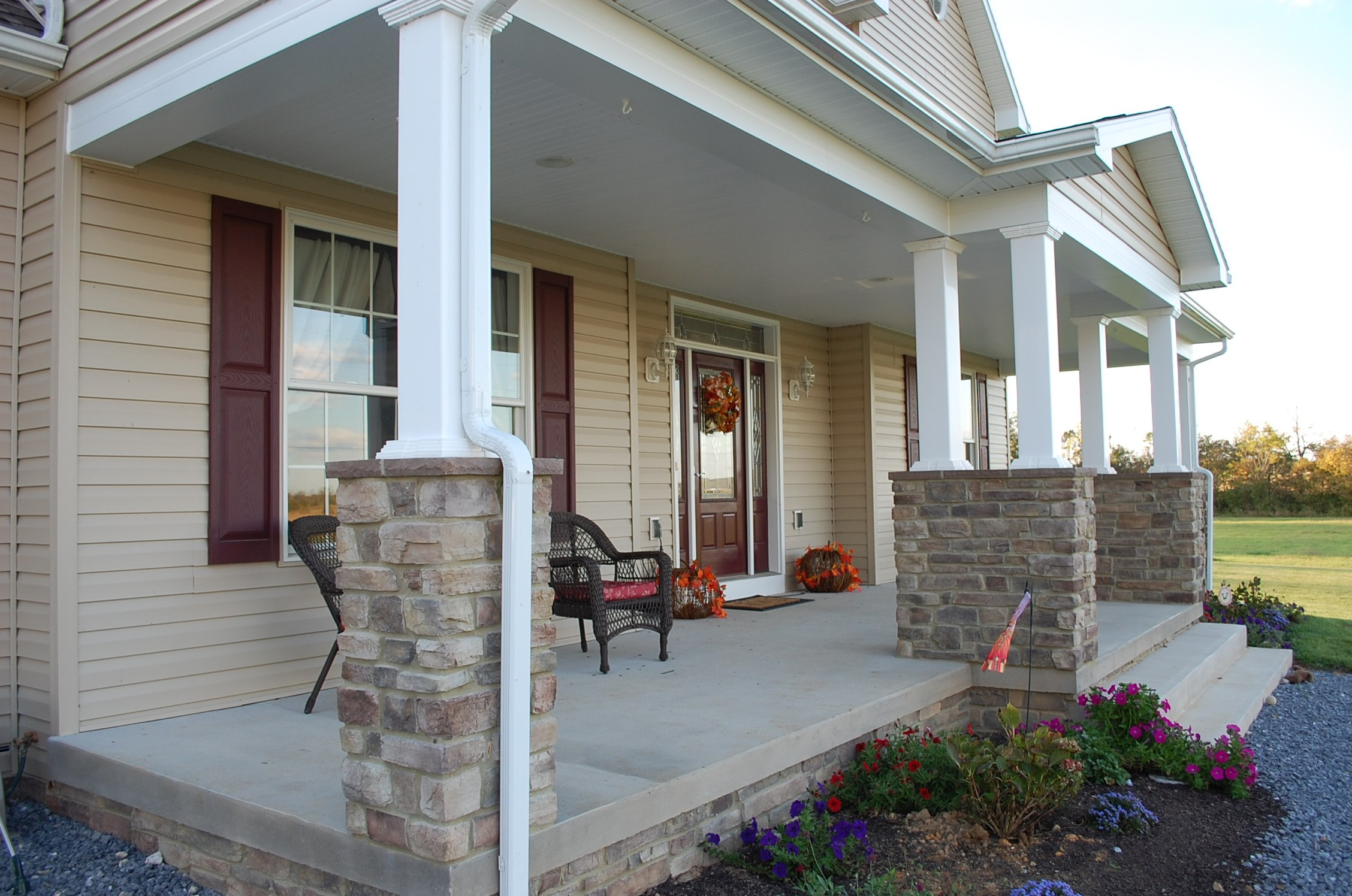 Colonial Home built by Mt. Tabor Builders