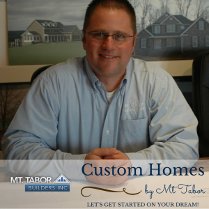 Willie Eby, owner of Mt. Tabor Builders, Inc.