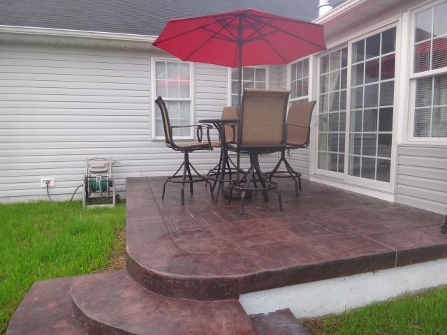 Falling Waters WV patio