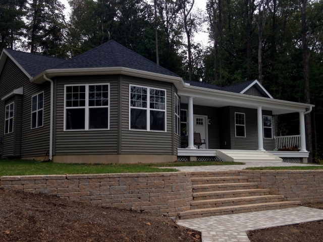 Custom new home in Sharpsburg