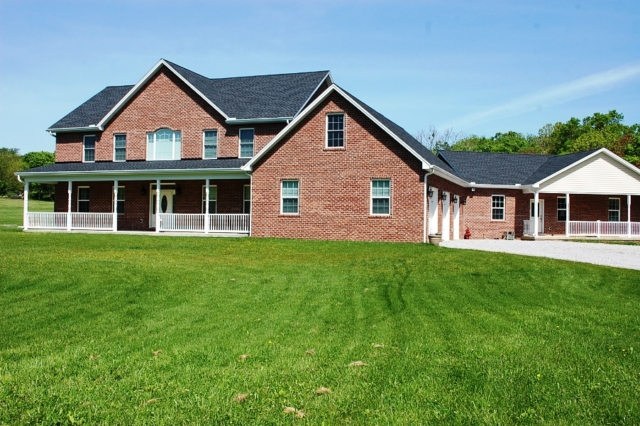 Boonsboro, MD brick Colonial by Mt. Tabor Builders