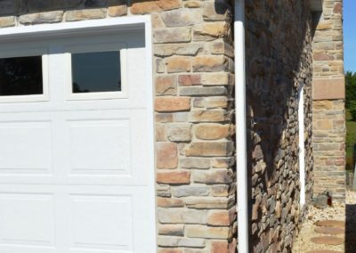 Stone colonial renovation in Clear Spring, MD by Mt. Tabor Builders, Inc.