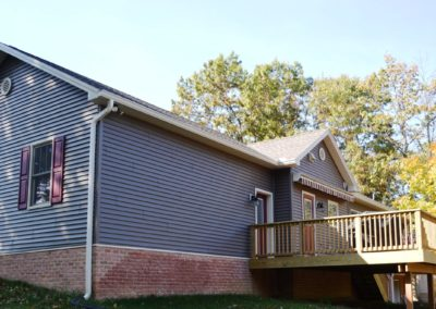 Falling Waters WV rancher built by Mt. Tabor Builders, Inc.