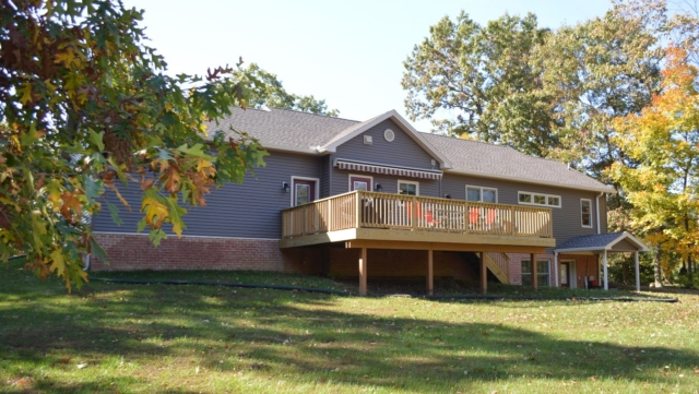 Falling Waters WV rancher built by Mt. Tabor Builders, Inc. of Clear Spring, MD