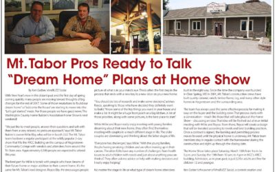 Mt. Tabor at HBA Home Show on March 18 & 19