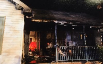 Burned Falling Waters, WV Home Rebuilt