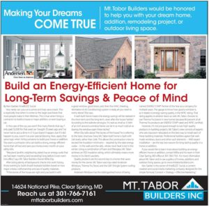 Herald Mail Homesource article - Energy Efficient Home