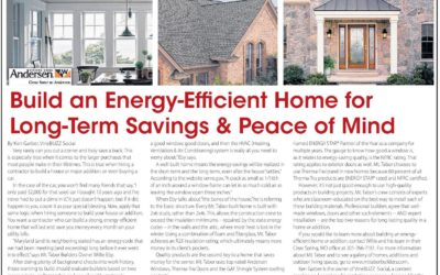 Build an Energy-Efficient Home for Long-Term Savings