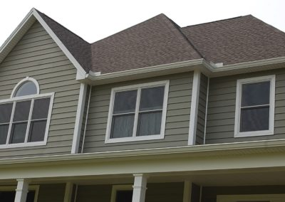 GAF Shingles and Andersen windows on custom home