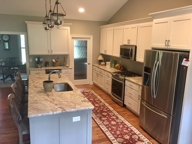 Sharpsburg, MD Timber Frame House Kitchen
