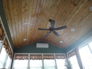 Custom addition by Mt. Tabor Builders in Falling Waters, WV home
