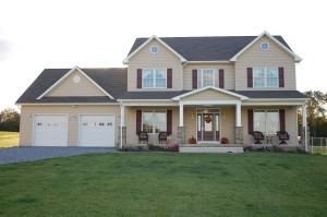 Colonial home in Clear Spring, MD built by home builder Mt. Tabor Builders, Inc.