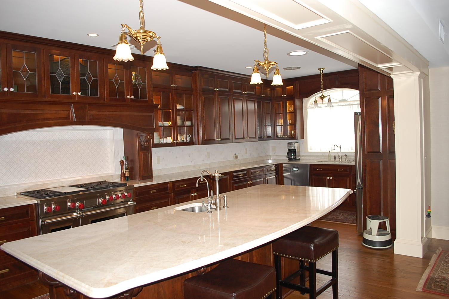 Custom Kitchen renovation by Mt. Tabor Builders in Hagerstown, MD