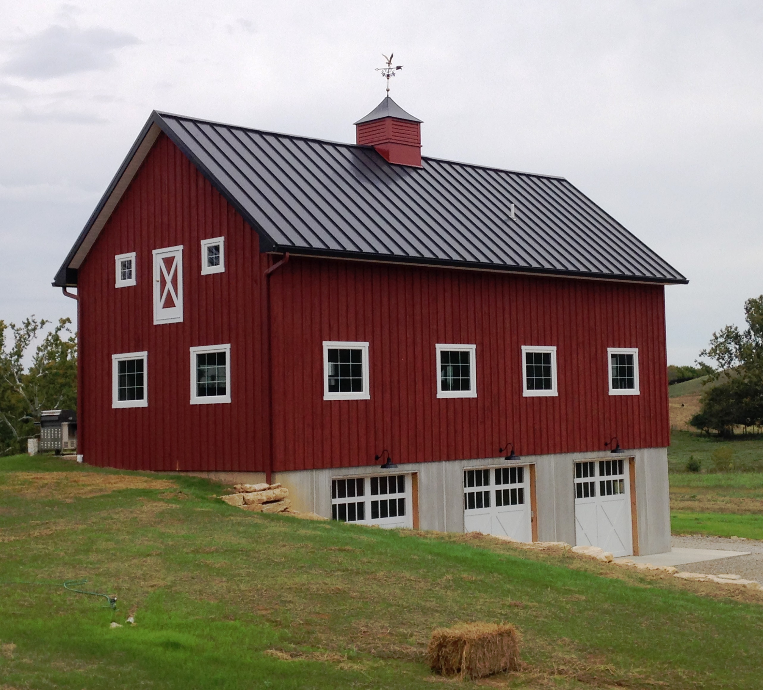Custom built Barn in Boonsboro
