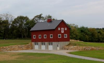custom barn in Boonsboro