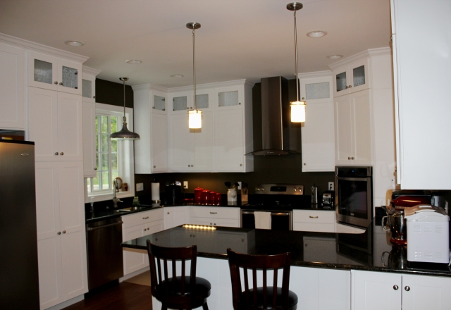 Custom kitchen in Sharpsburg MD rancher