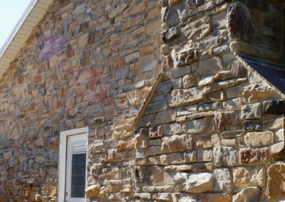 Stone colonial renovation in Clear Spring, MD