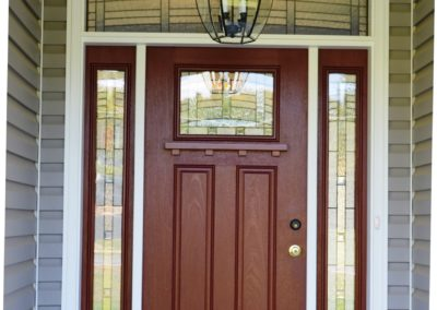 Door on Custom Home in Clear Spring, MD built by Mt. Tabor Builders