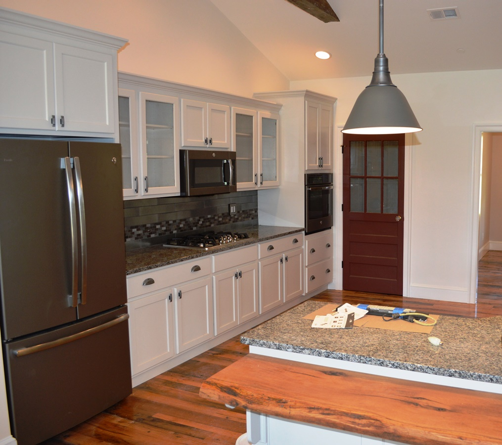 Kitchen In Custom Home In Clear Spring, MD