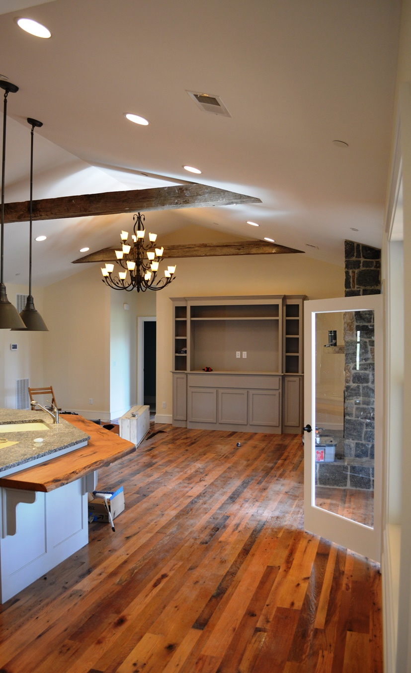 Clear Spring Md Single Level Custom Home Mt Tabor Builders