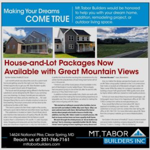 House and Lot Pkg Herald-Mail article from Sept. 2017