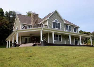 Sharpsburg, MD custom home built by Mt. Tabor Builders of Clear Spring, MD.