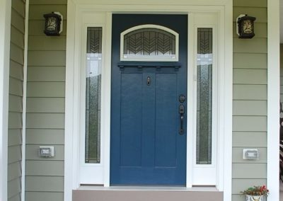 Therma-Tru Door on custom home built by Mt. Tabor Builders