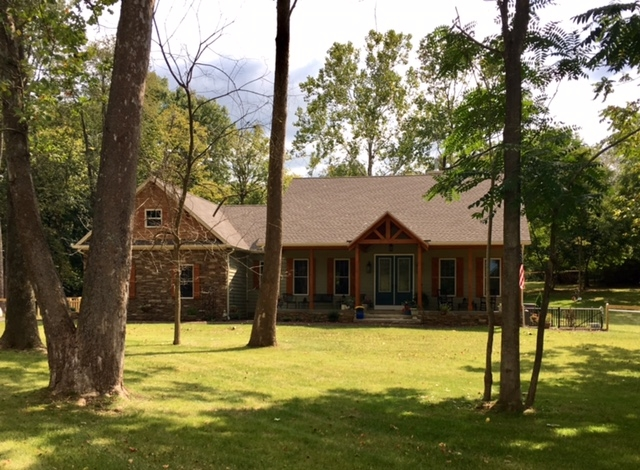 Sharpsburg, MD Timber Frame House built by Mt. Tabor Builders
