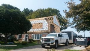 Major renovation of a Hagerstown, MD home by Mt. Tabor Builders of Clear Spring, MD