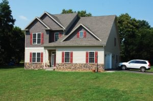 Custom colonial home in Boonsboro, MD built by Mt. Tabor Builders of Clear Spring, MD