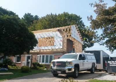 Whole house renovation project by Mt. Tabor Builders in Hagerstown, MD