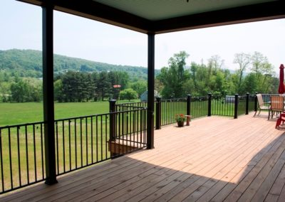 Decks and patios are great outdoor living spaces