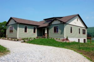 Custom home built by Mt. Tabor Builders in Clear Spring, MD