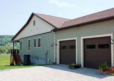 Craftsman-style home in Boonsboro garage