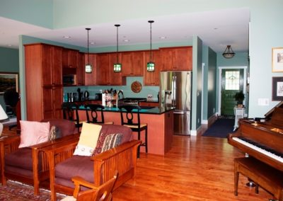 Craftsman-style home in Boonsboro kitchen