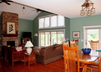 Craftsman-style home in Boonsboro living room