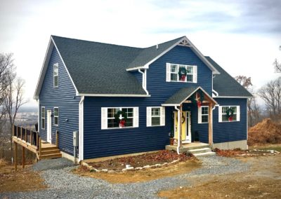 Keedysville, MD Cape Cod built by Mt. Tabor Builders of Clear Spring, MD