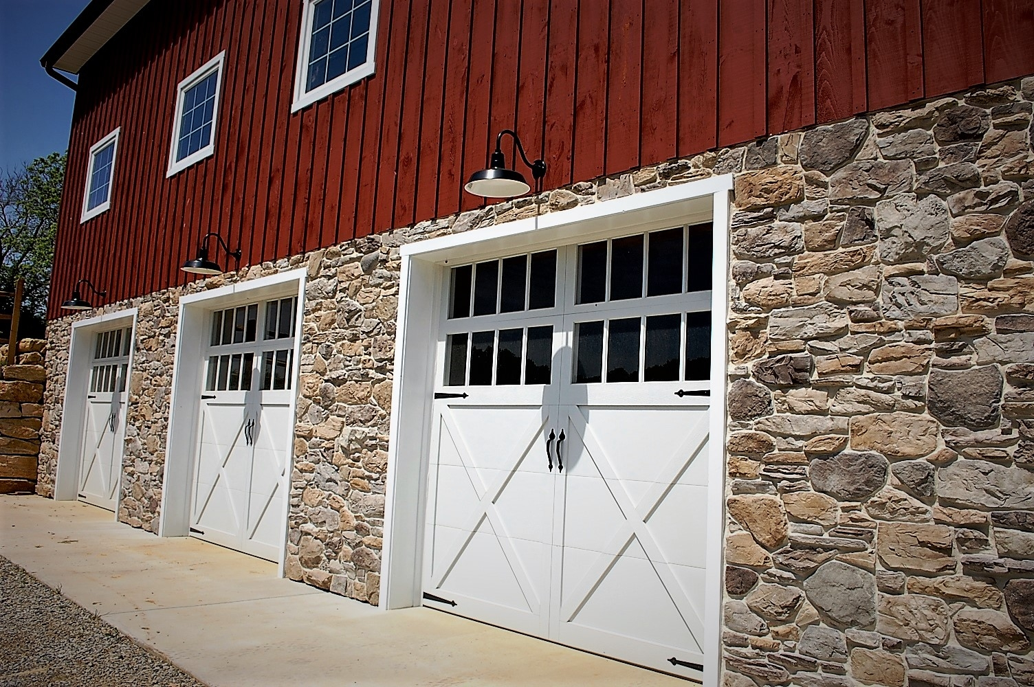 Garage in Barn home in Boonsboro, MD