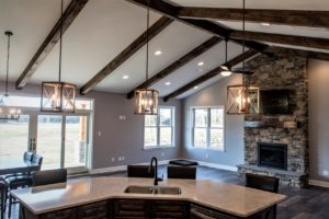 Greencastle, PA craftsman custom home built by Mt. Tabor Builders in Clear Spring, MD