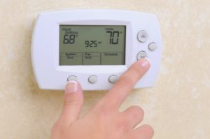 Thermostat during Energy Awareness Month in Hagerstown, MD