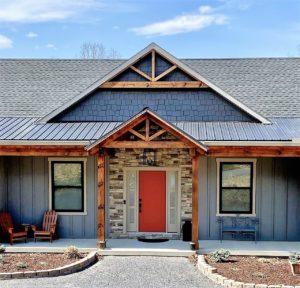 Craftsman-style home built by Mt. Tabor Builders in Berkeley Springs, WV