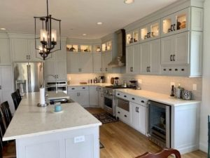 Custom kitchen in Hagerstown, MD home built by Mt. Tabor Builders