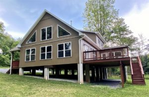 Mountain house in Paw Paw, WV built by Mt. Tabor Builders